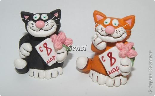 Коты к 8 марта фото 1