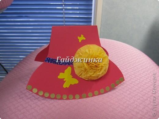 Сегодня поздравляли мам с праздником в младшей группе (1,5 - 3 года). Большое спасибо Татьяне Просняковой за МК замечательных открыток-шляп. http://stranamasterov.ru/node/8052 фото 1