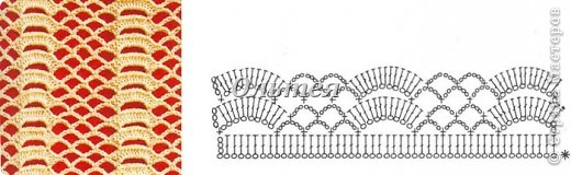 Гардероб Мастер-класс Вязание крючком МК ажурные перчатки крючком Пряжа фото 4