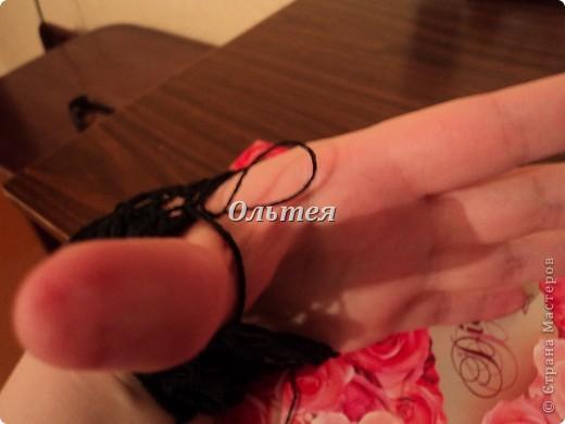 Гардероб Мастер-класс Вязание крючком МК ажурные перчатки крючком Пряжа фото 6
