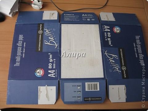 Как из ничего сделать вот такую красивую коробку. Нужно: картонная коробка, упаковочная бумага, нож для резки бумаги, клей, возможно, картон, линейка, степплер. Нужно было мне упаковать подарок – фотоальбом размером больше А4. От цен на упаковочные коробки в магазине мне немного поплохело, кроме того, цвет этих коробок оставлял желать лучшего…   фото 3