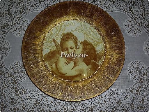 """тарелка из серии""""Семь грехов человечества"""" фото 7"""