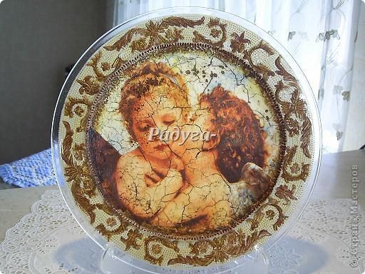 """тарелка из серии""""Семь грехов человечества"""" фото 9"""