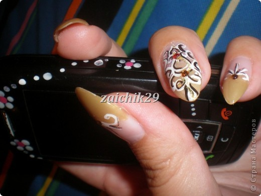 Мои наращивания ногтей фото 3