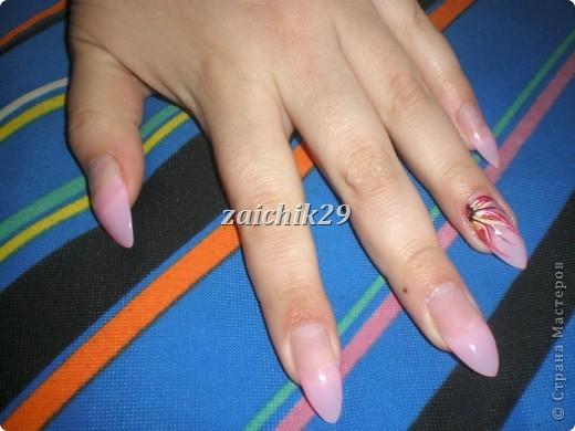 Мои наращивания ногтей фото 4