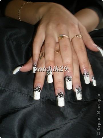 Мои наращивания ногтей фото 5