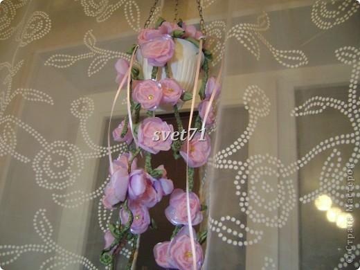Кашпо с цветком. фото 2