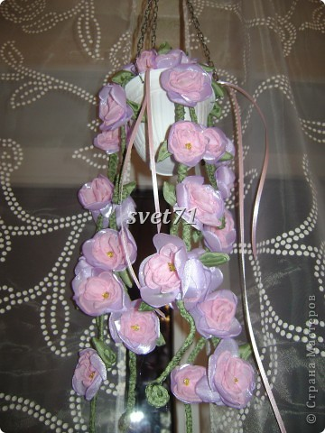 Кашпо с цветком. фото 1