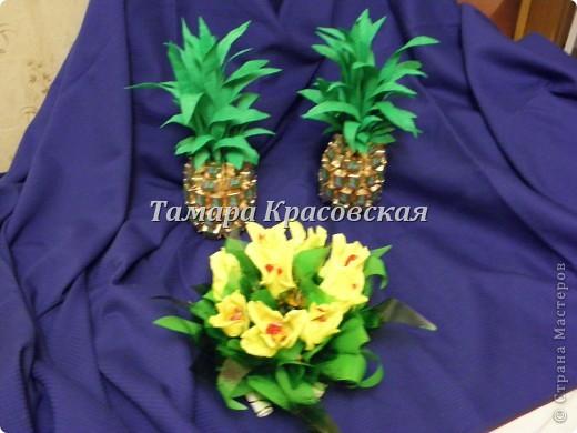 Подарочные ананасы фото 1