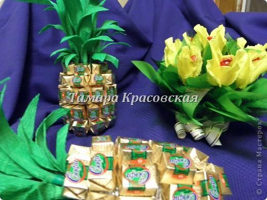 Подарочные ананасы фото 2