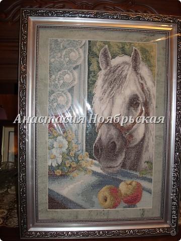 Увидела лошадку, сразу влюбилась!! Глядя на картину, почему то вспоминается весна!! Вам не кажется?? фото 2