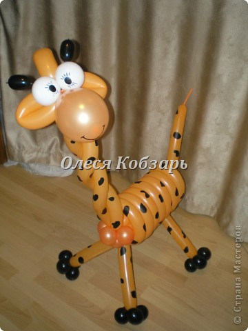 Моя любимая фигурка - жираф фото 1