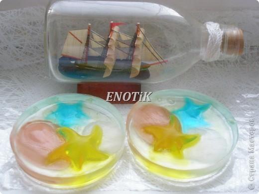 Морская лагуна из мыла-2 фото 1
