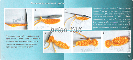 Аппликация Вязание крючком