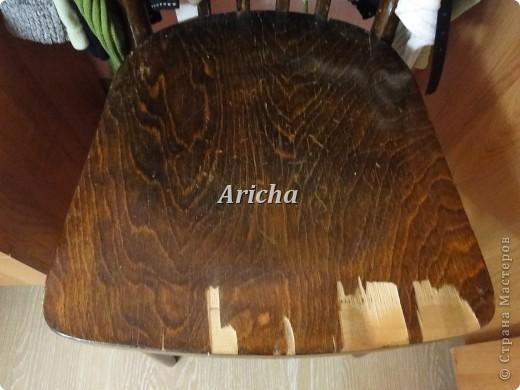 Было у меня два вот таких стула... Так стулья не плохие, крепкие, только верх ужасный стал от времени давности. фото 1