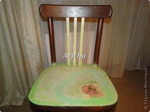 Было у меня два вот таких стула... Так стулья не плохие, крепкие, только верх ужасный стал от времени давности. фото 2