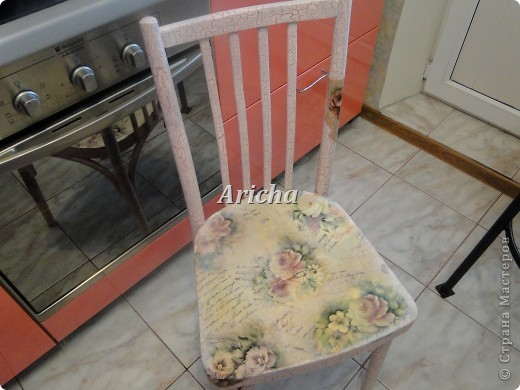 Было у меня два вот таких стула... Так стулья не плохие, крепкие, только верх ужасный стал от времени давности. фото 4