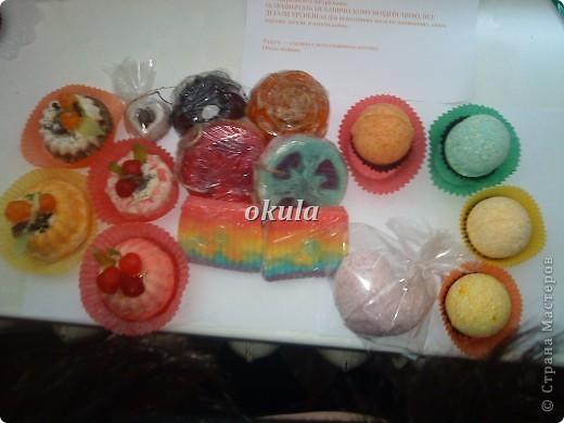 Мыльные пироженные, самое моё любимое произведение из мыла))) очень люблю их делать)))) фото 21