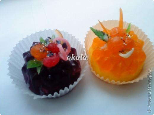 Мыльные пироженные, самое моё любимое произведение из мыла))) очень люблю их делать)))) фото 1