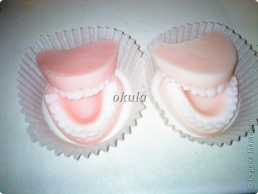 Мыльные пироженные, самое моё любимое произведение из мыла))) очень люблю их делать)))) фото 3