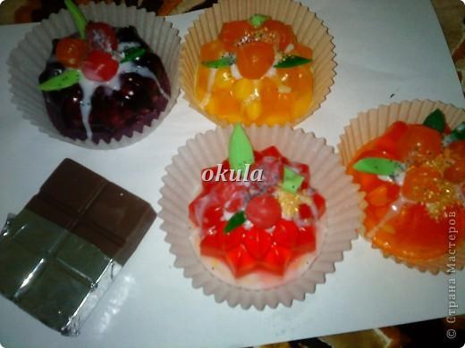 Мыльные пироженные, самое моё любимое произведение из мыла))) очень люблю их делать)))) фото 19