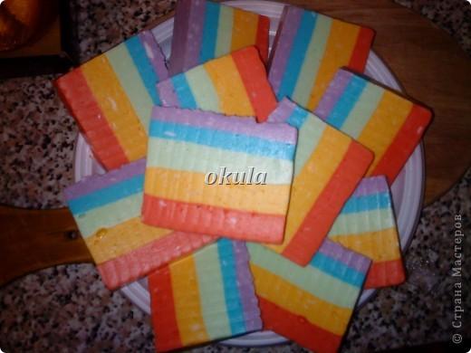 Мыльные пироженные, самое моё любимое произведение из мыла))) очень люблю их делать)))) фото 11