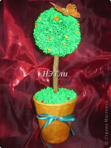 """Вот, наконец-то, и я собралась с духом и сотворила """"дерево счастья"""" фото 2"""