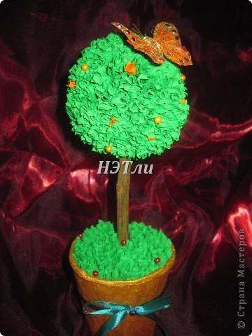 """Вот, наконец-то, и я собралась с духом и сотворила """"дерево счастья"""" фото 5"""