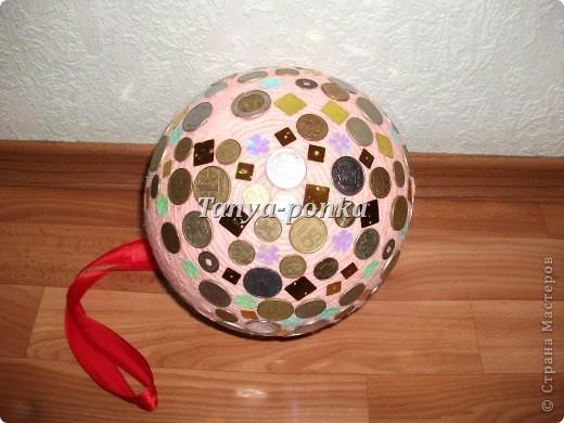 Вот такой у меня денежный шар! фото 4