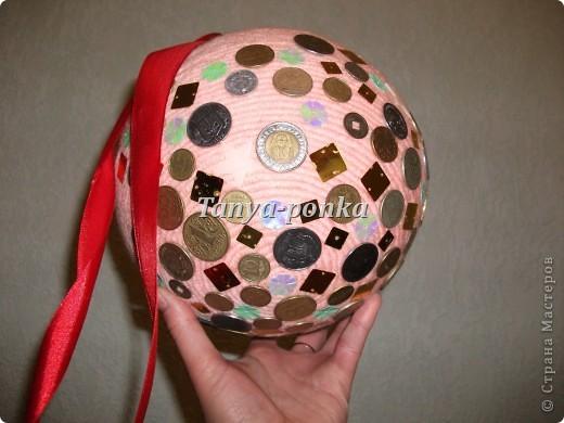 Вот такой у меня денежный шар! фото 1
