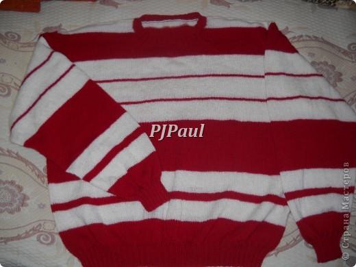 Тучный мешок, бактус и мужской пуловер фото 4
