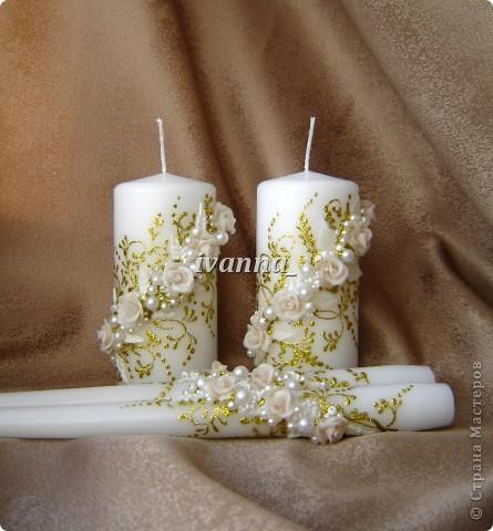 Свечи свадебные фото 1