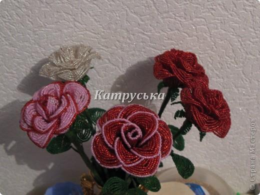 ТАкие бисерные розы делала около 3 лет назад нашла фото думаю покажу. фото 2