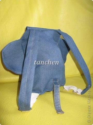 новая жизнь старым джинсам- рюкзачок фото 2