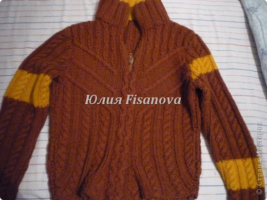 Тёплый свитер фото 1