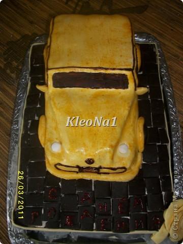 клубнично-шоколадный торт фото 2