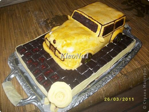 клубнично-шоколадный торт фото 1