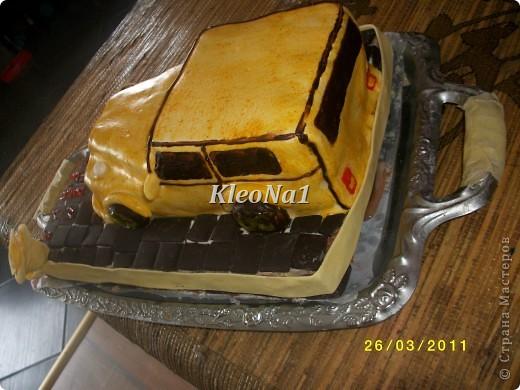клубнично-шоколадный торт фото 3