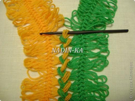 Гардероб Мастер-класс Вязание МК вязание на вилке 1 Нитки Пряжа фото 11