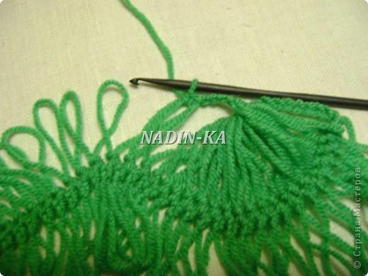 Гардероб Мастер-класс Вязание МК вязание на вилке 1 Нитки Пряжа фото 15