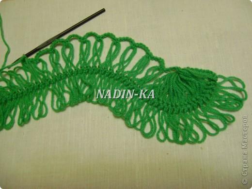 Гардероб Мастер-класс Вязание МК вязание на вилке 1 Нитки Пряжа фото 16