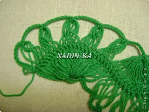 Гардероб Мастер-класс Вязание МК вязание на вилке 1 Нитки Пряжа фото 17