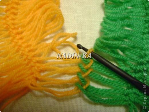 Гардероб Мастер-класс Вязание МК вязание на вилке 1 Нитки Пряжа фото 6