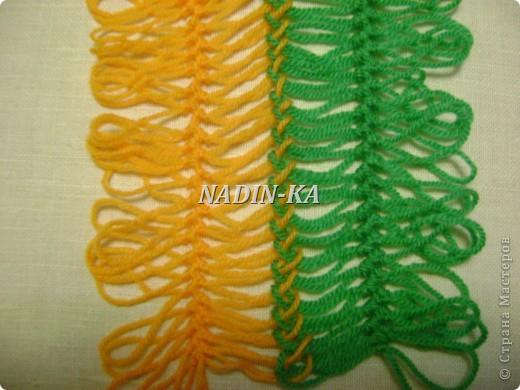Гардероб Мастер-класс Вязание МК вязание на вилке 1 Нитки Пряжа фото 7