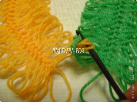 Гардероб Мастер-класс Вязание МК вязание на вилке 1 Нитки Пряжа фото 8