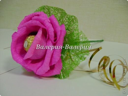 Сладкий букет из сладких роз фото 3