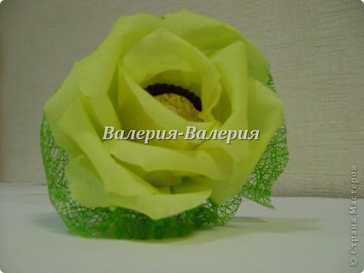 Сладкий букет из сладких роз фото 4