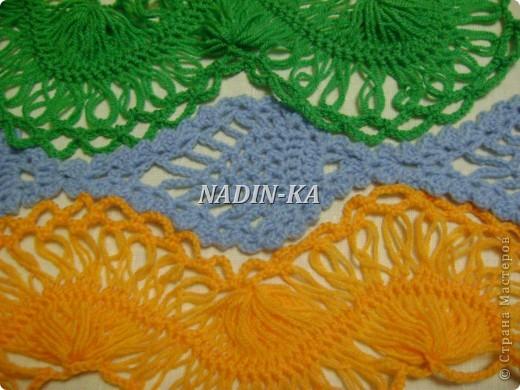 Гардероб Мастер-класс Вязание МК вязание на вилке 1 Нитки Пряжа фото 27