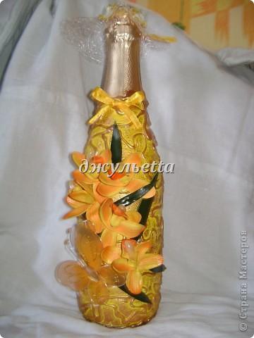 декор бутылок фото 3