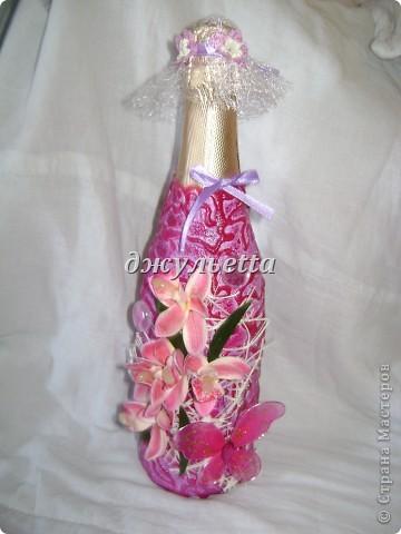 декор бутылок фото 5